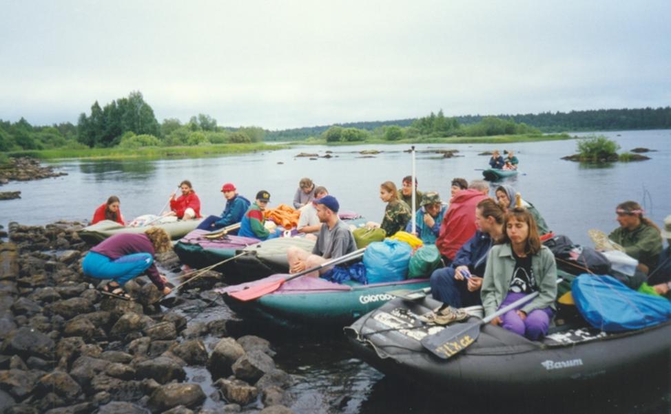 Řeka Ochta, Rusko - 1997
