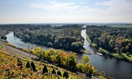 soutok Labe a Vltava