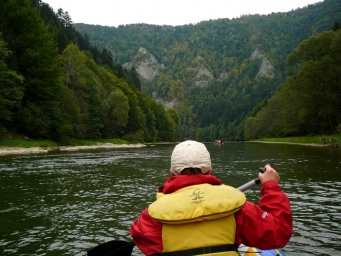 Pltě na Dunajci