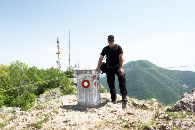 na vrcholku Kablaru