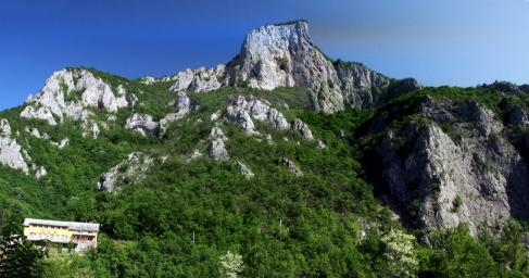 panorama hřebene Kablaru
