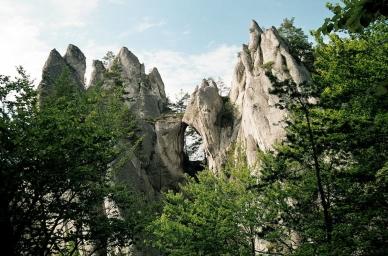 přední část Gotické brány